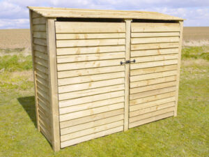 Normanton 6' Log Store with Door