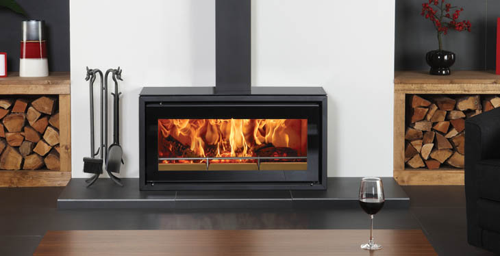 smart woodburning stove