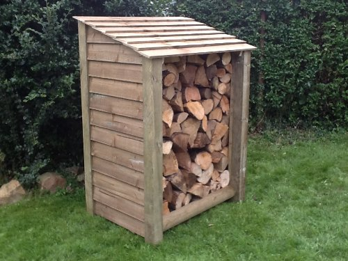 wooden Log Store Pressure Treated